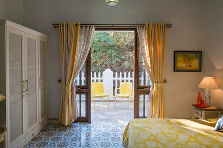 Inner Temple - Room with a Patio in North Goa - North Goa