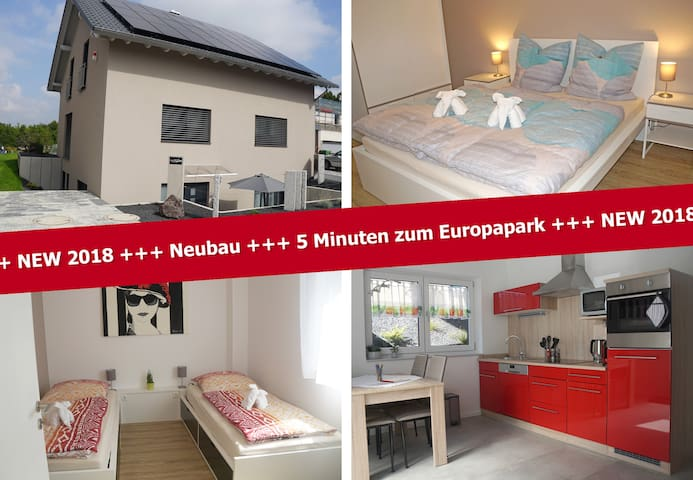 Apartment Seven, (Ringsheim), Apartment Seven, 48 qm, Terrasse, 2 Schlafzimmer, max. 4 Personen