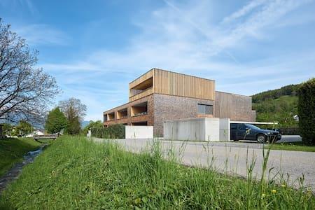 Gartenwohnung in preisgekrönter Architektur