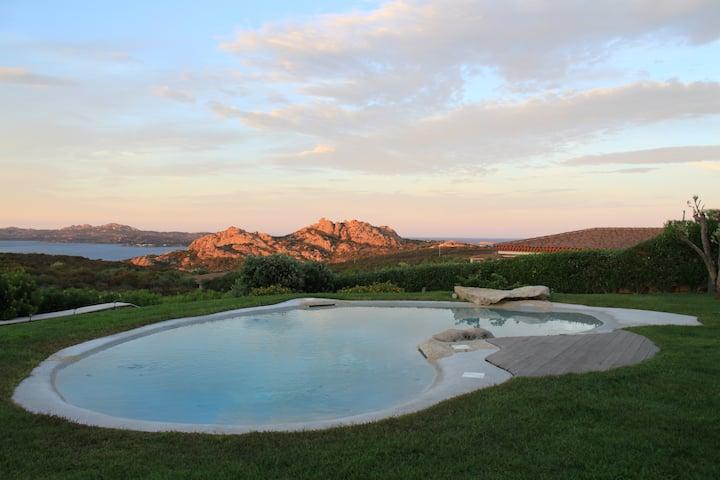 Stunning Villa with Panoramic view on La Maddalena