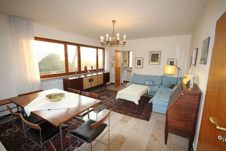 Altmühltal Alleinlage Aussicht sonnig 3 Zi Wohnung - Walting - Apartamento