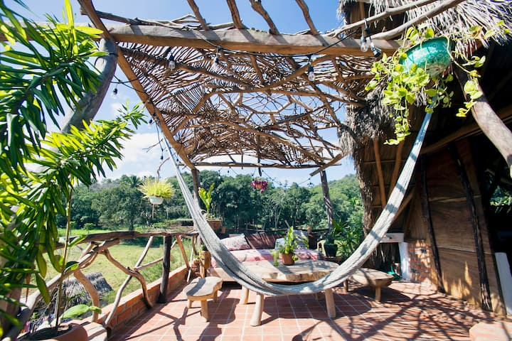 TRANQUILANDIA hideout in nature with organic farm