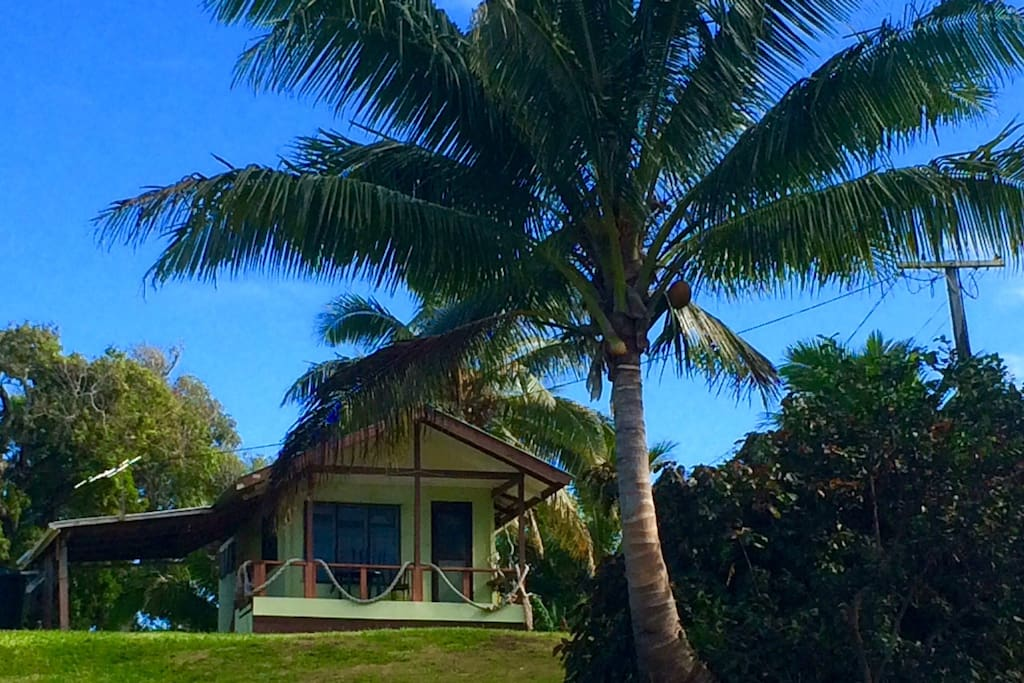 The bungalow . . .