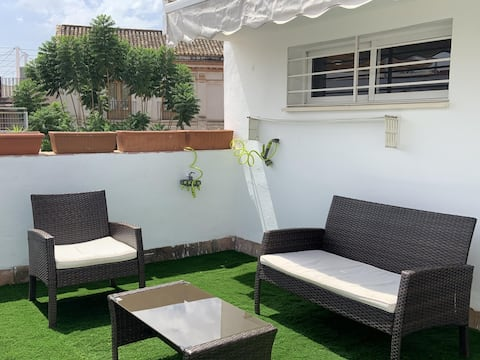 LR2 PRIVATE TERRACE and parking included. Apartment in the Historic Center