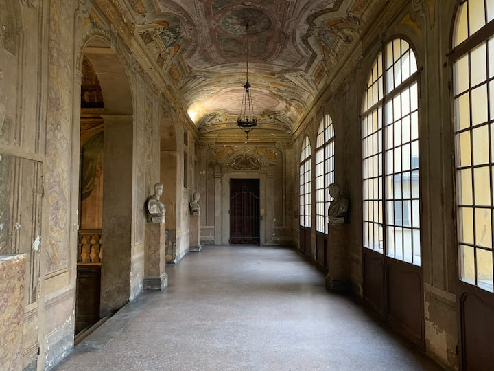 Casetta de' Poeti - Arched Ceiling Loft in Bologna