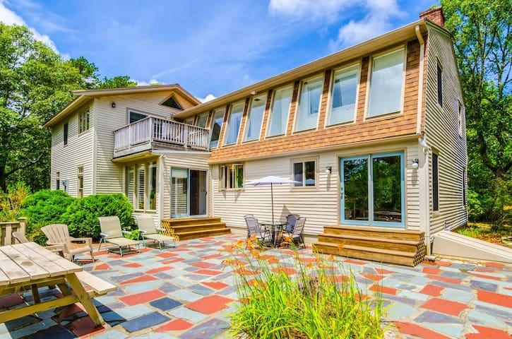 Beautiful 3,100 Sq.Ft. Home in the Welfleet Woods - Wellfleet - Ev