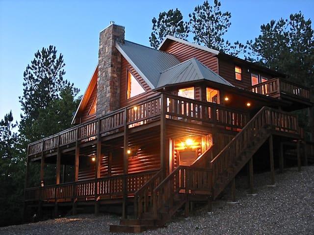 Mountain Vista Luxury Cabin - Broken Bow - Blockhütte