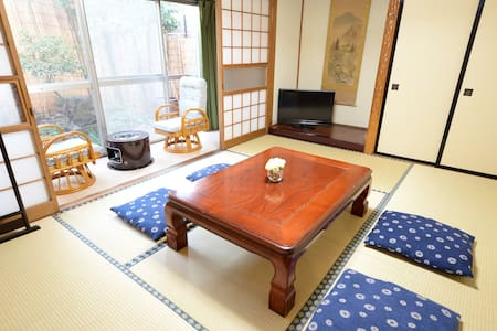 Destiny Inn Sakaiminato JPN style room with Gerden