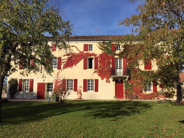 Maison de charme, ensoleillée, joliment décorée - Brassempouy