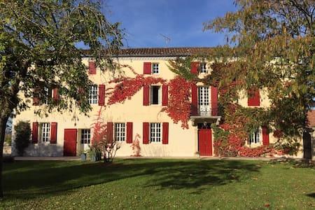 Maison de charme, ensoleillée, joliment décorée - Brassempouy - Talo