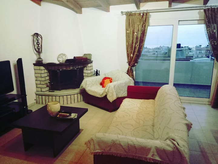 Rooftop apartment in Herakion