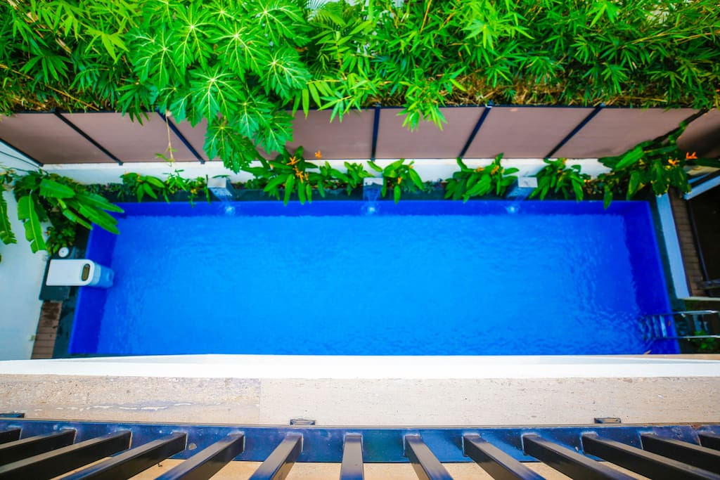 The 40ft Lap pool