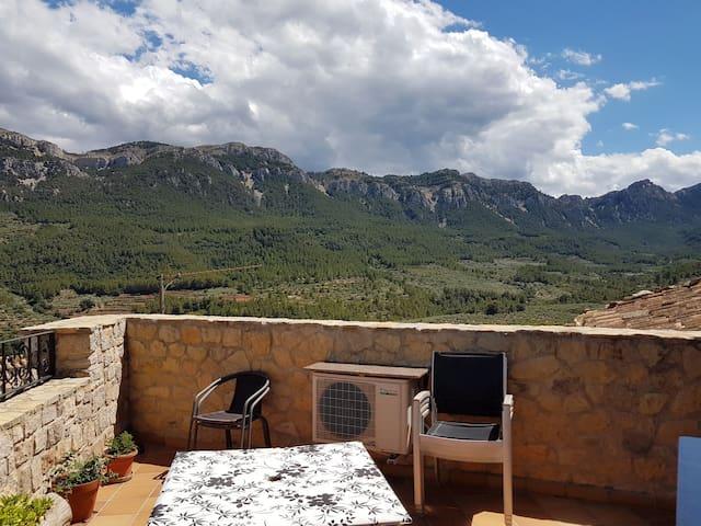 Casa Rural al centro los puertos Tortosa y Beceite