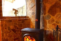 Suite C wood stove