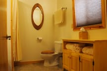 Suite C bathroom
