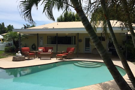 Luxury Private Vacation Pool Home - Hobe Sound - Huis