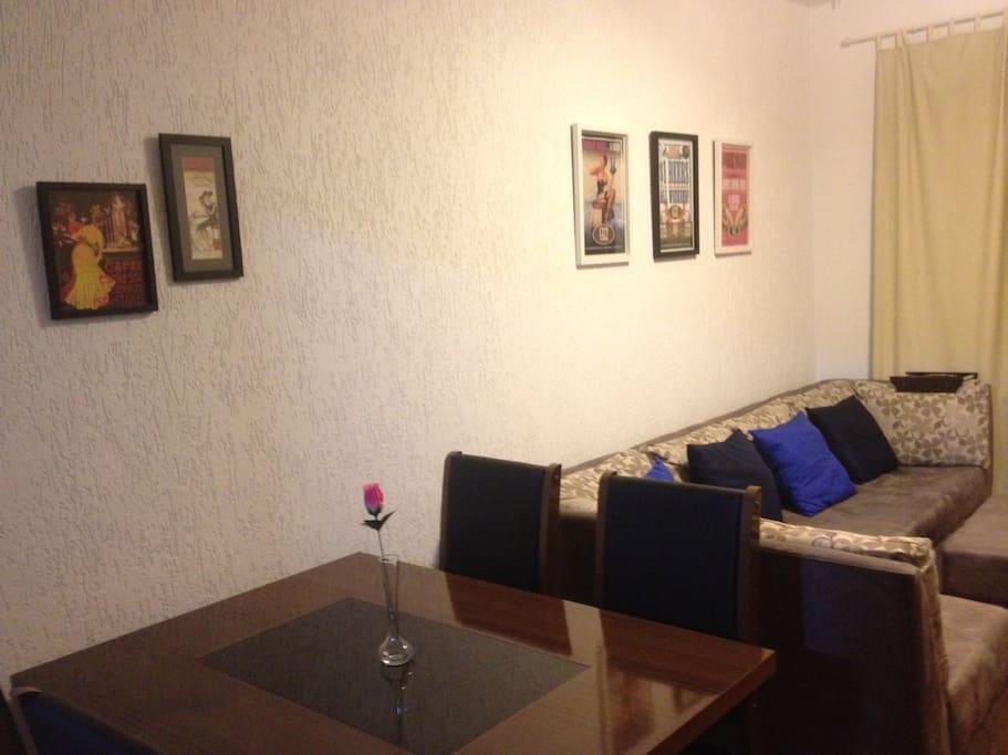 mesa de jantar + sala