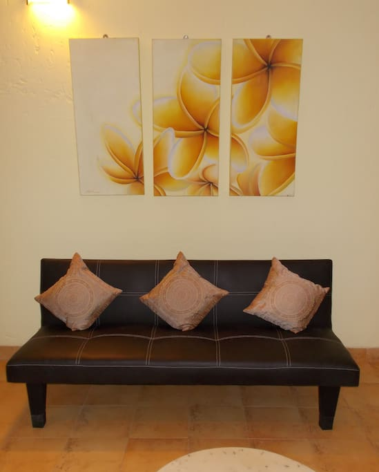 Sofa Bed in Lounge