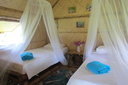 Kingfisher lodge, Bamboo cabin - Thalang District - Srub