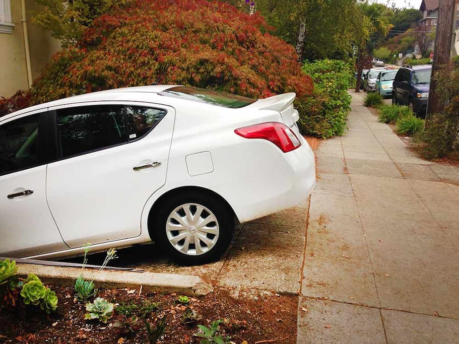 Free Parking in driveway