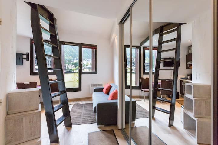 GREAT STUDIO in Heart of Chamonix.