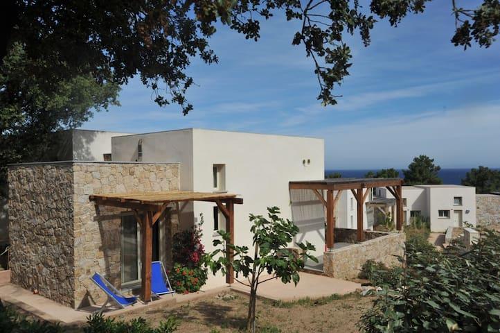 MINI VILLA  S. AMBROGIO - CALVI  - Marina di Sant'Ambroggio Lumio - House