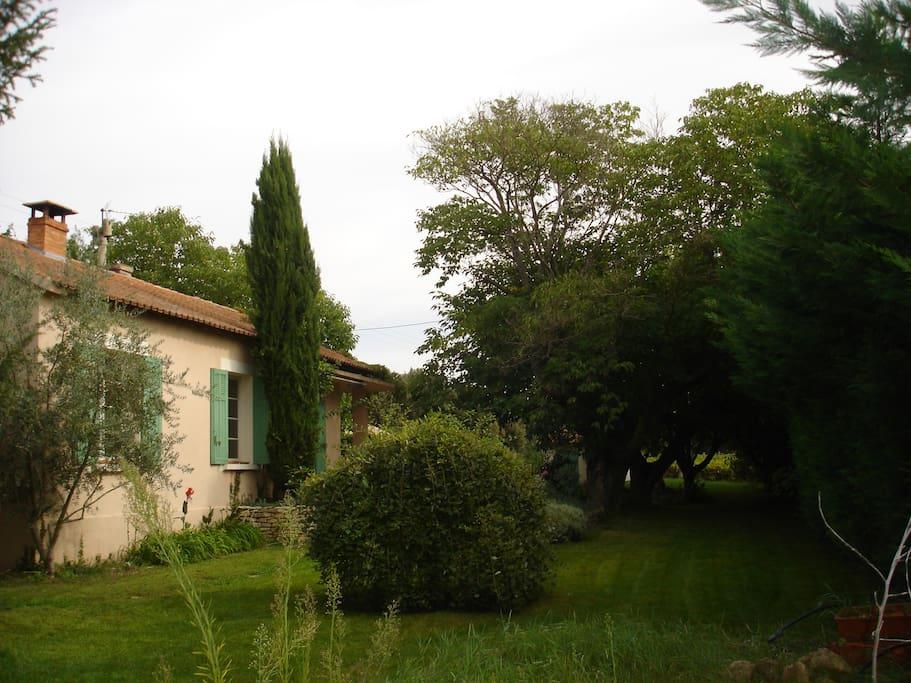 La maison, côté sud