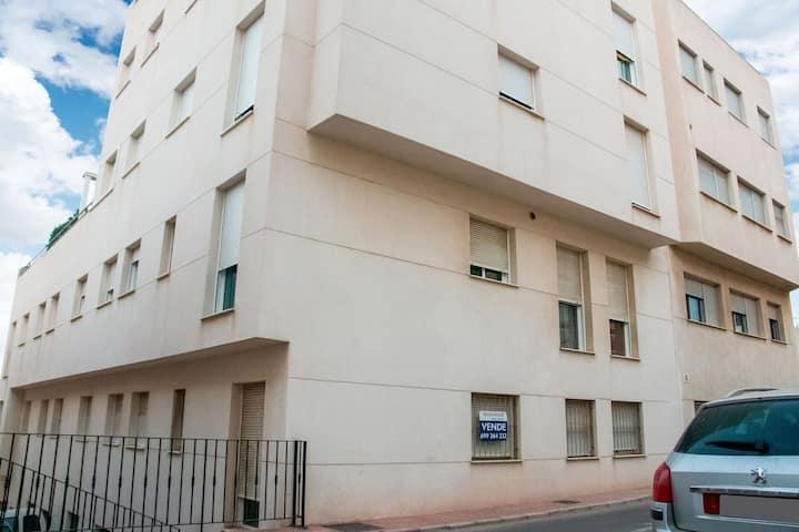 Apartamento sencillo en Garrucha cerca de Seabeach