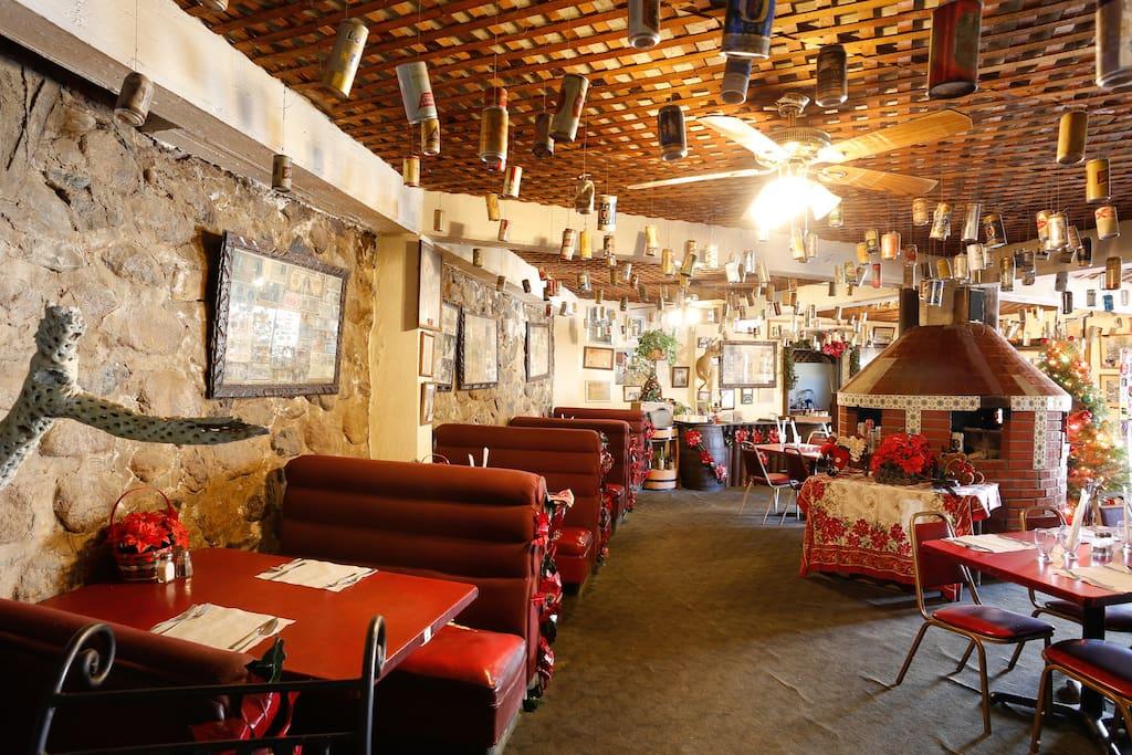 Restaurante El Palomar museo since 1948