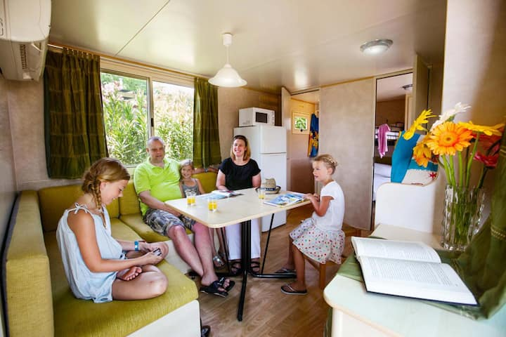 A tiny house for a great stay, Giotto mobile home