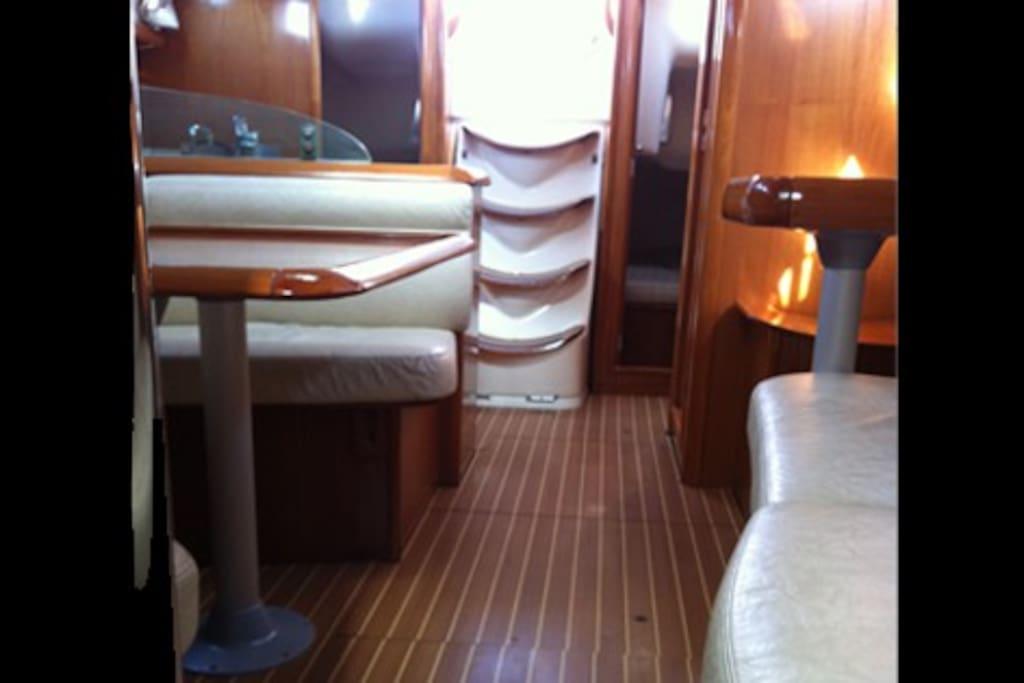 Premium interior space