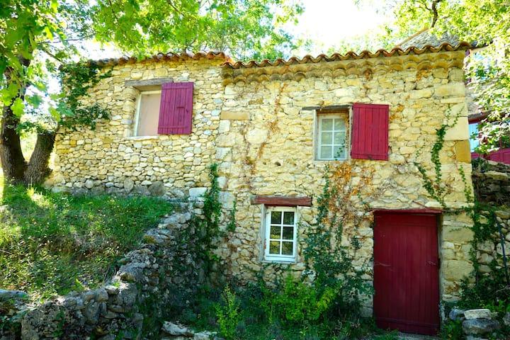 Mas 6 p piscine en Drôme Provençale