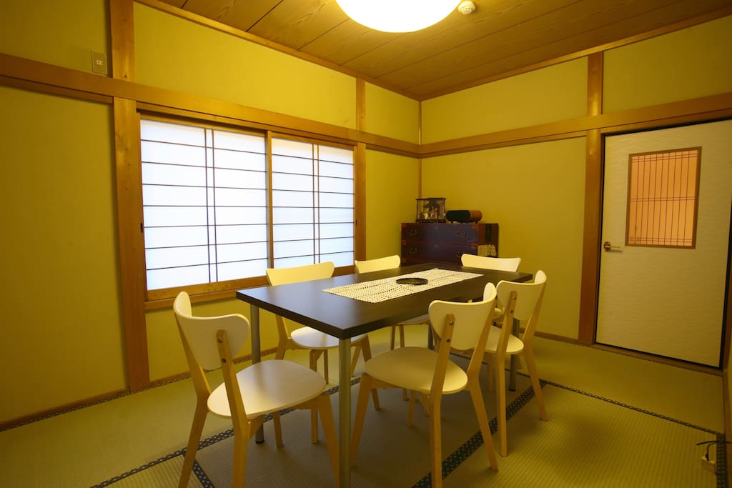 dining room for 6 people
