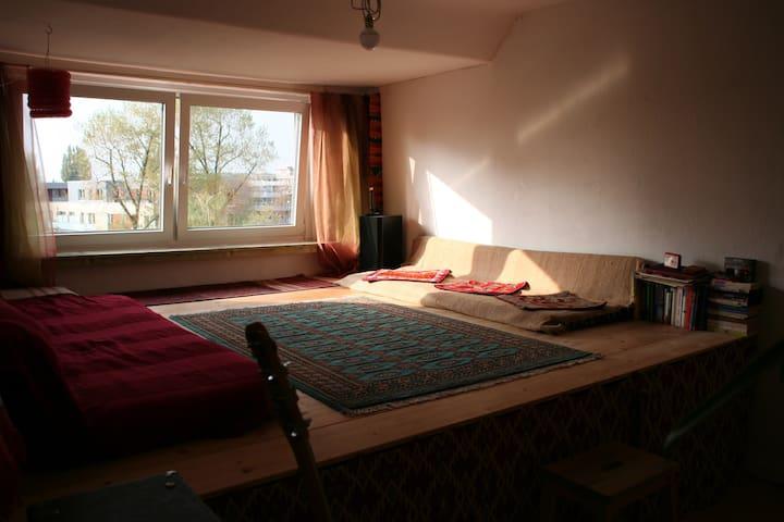 Helle 2 Zimmer Dachwohnung