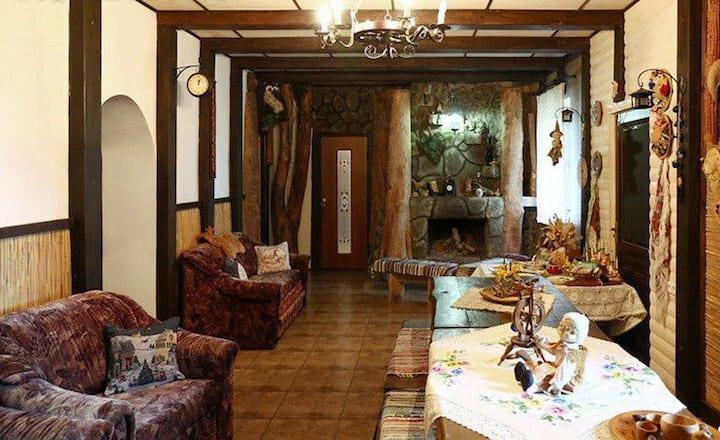 Колоритная усадьба Беловежская гостевая в Пуще