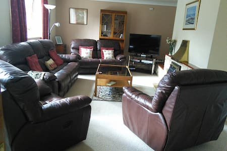 wheelchair friendly town bungalow - Builth Wells