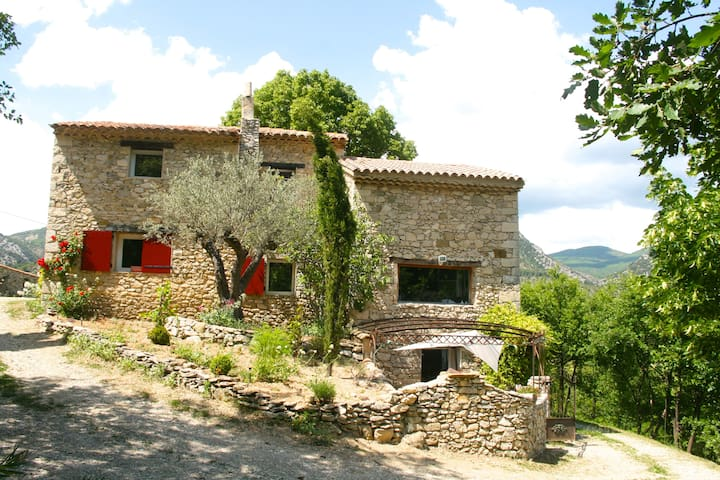 Gde maison piscine Drôme Provençale - Savoillan - House
