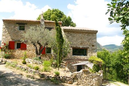 Gde maison piscine Drôme Provençale - Savoillan