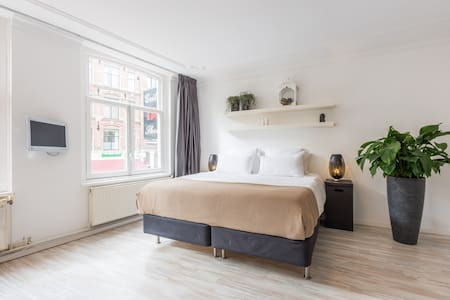 Comfortable studio@PERFECT location + 2 bikes - Amsterdam - Bed & Breakfast