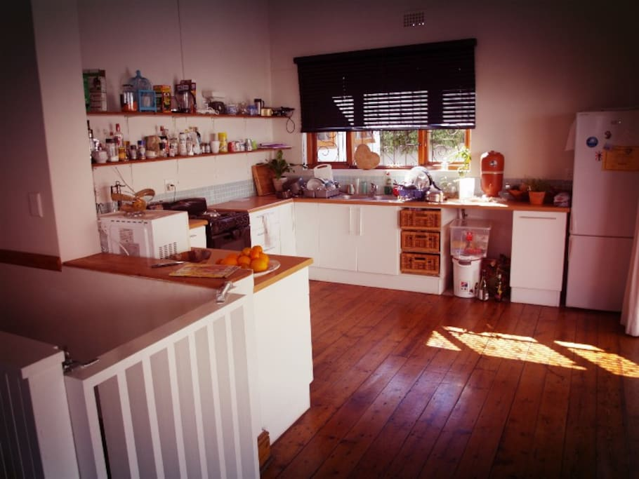 The kitted-out kitchen