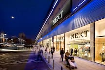 Nugent shopping center is within walking distance and has many top high street brands