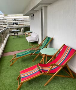 Charmant appartement Terrasse d'angle Vue mer Clim