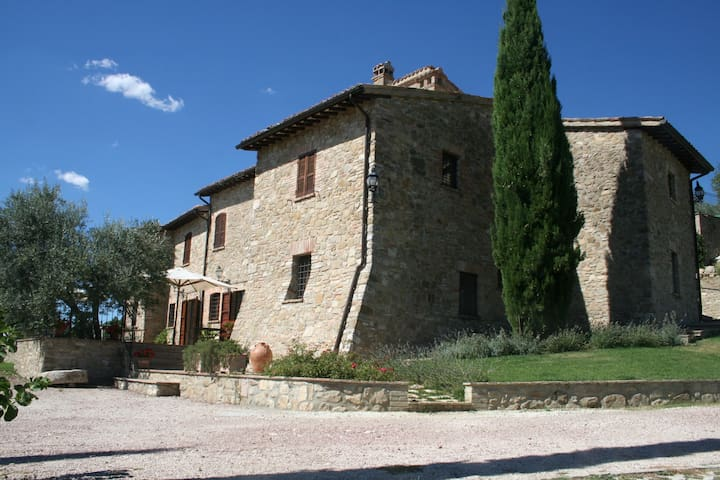 Small apartment in farmhouse - Saragano - Appartement