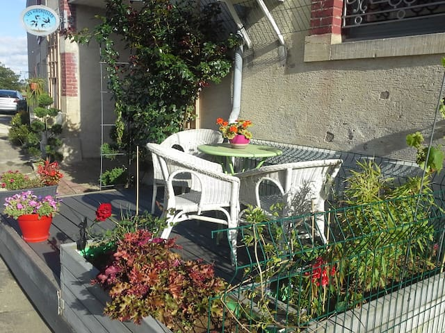 Gîte au Ciel d'Hirondelles - Lachaussée - Wohnung