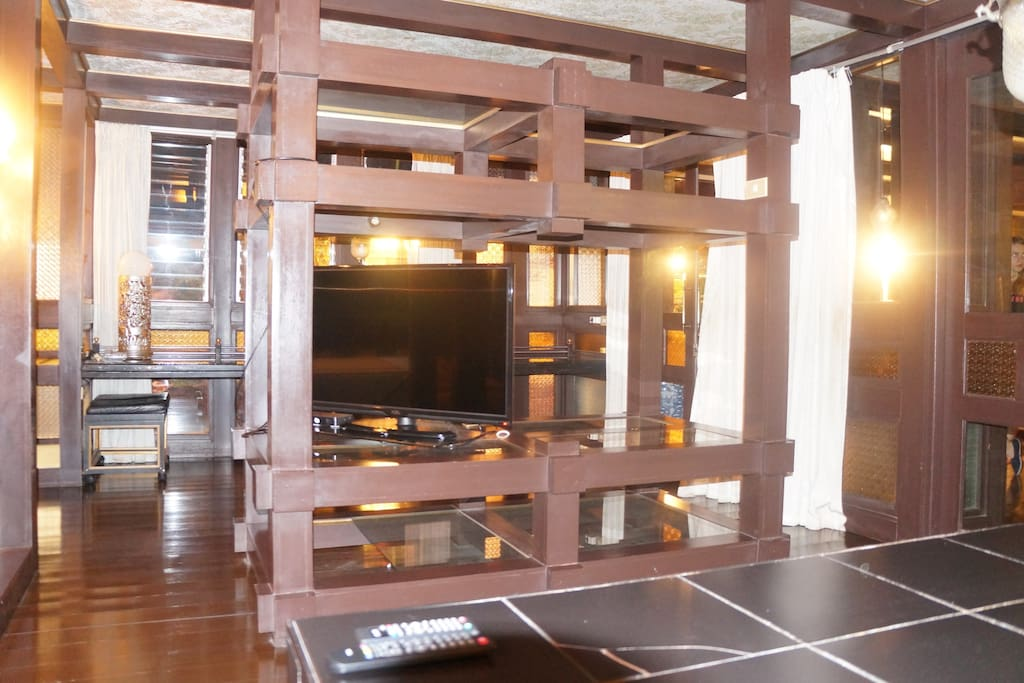 TV in recreation room