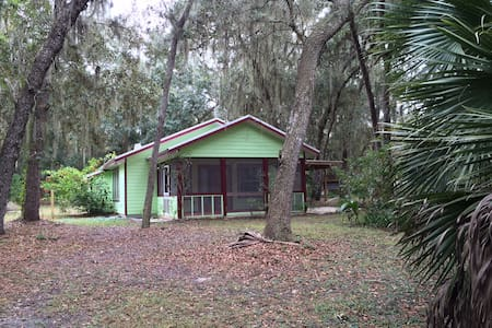 Serene Lake Cottage Near G'Ville FL - 霍桑(Hawthorne) - 小屋