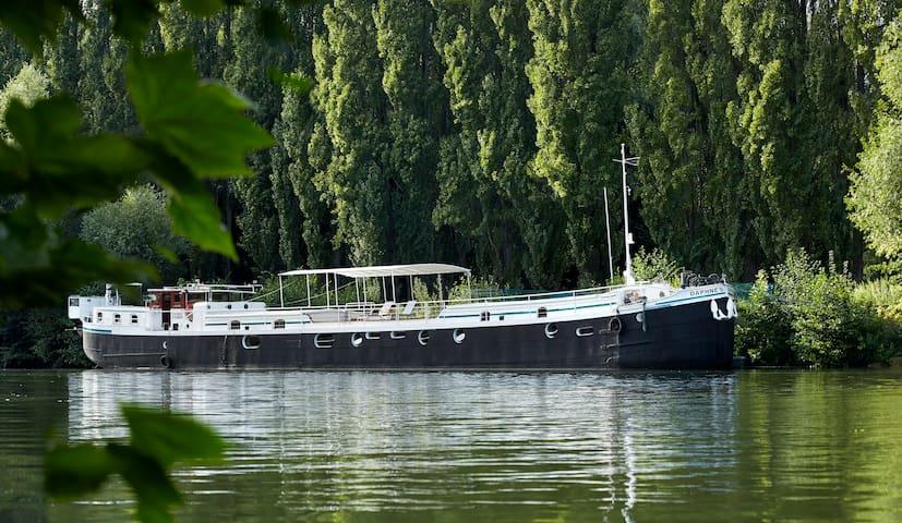 péniche-hôtel à Auvers-sur-Oise - Auvers-sur-Oise - Boat