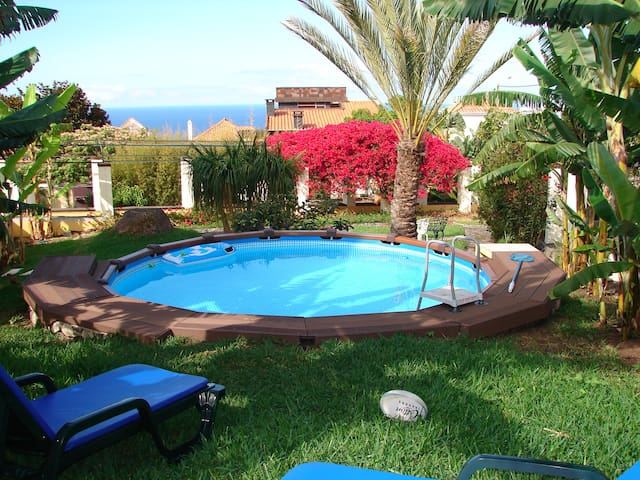 PRIVATE POOL,SUNNY AND ROMANTIC!    - Funchal - Flat
