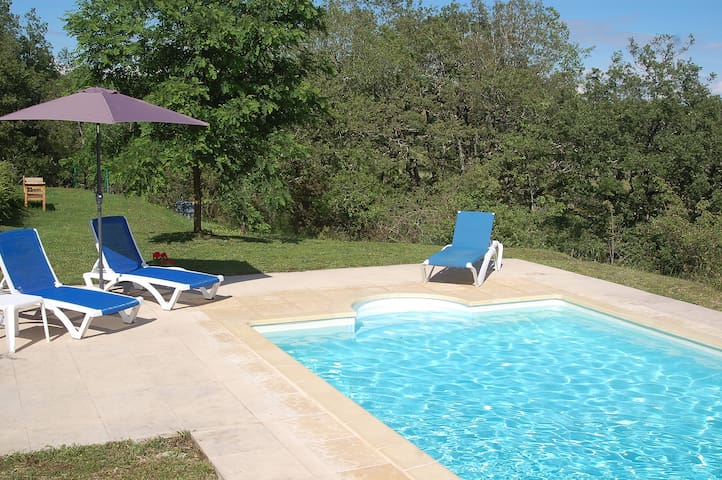 Beautiful French house with private pool. - Labastide-Murat