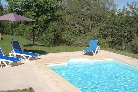 Beautiful French house with a private pool. - Labastide-Murat - Villa